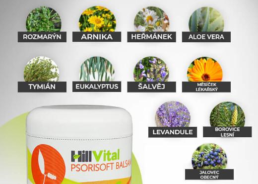Psorisoft balzam bylinky
